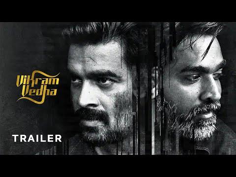 Vikram Vedha Tamil Movie Official Trailer   R Madhavan   Vijay Sethupathi   Y Not Studios thumbnail