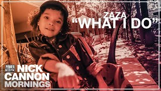 "Zaza & Nick Cannon Mornings ""What I Do"" Music Video"