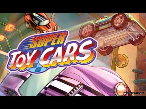 Super Toy Cars (Wii U) Let's Play Review   8-Bit Eric
