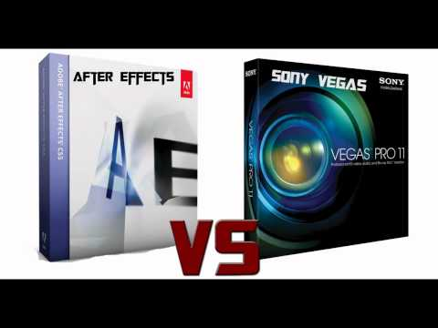 After Effects VS Sony Vegas