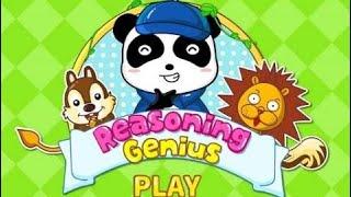Baby Panda App Video | Baby Panda Reasoning Genius | Babybus Games | Educational Animation Gameplay