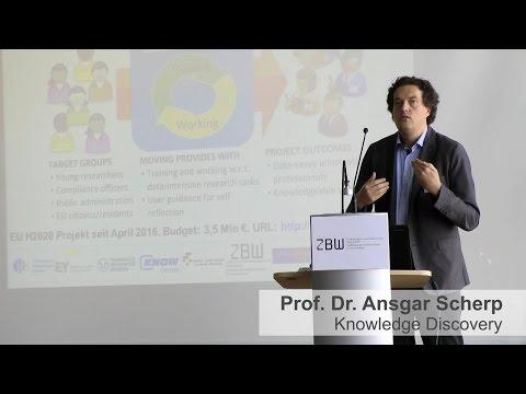 Digitalisierung Der Wissenschaft Mit Informatik - Prof. Dr. Ansgar Scherp
