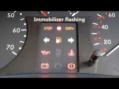 Renault Clio Mk2 Immobiliser Bypass Trick