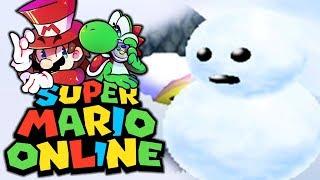 Dicker Schneemann bläst Luigi   12   Super Mario 64 Online