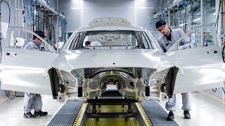 Mercedes-Benz E-Class W212 facelift Production Sindelfingen