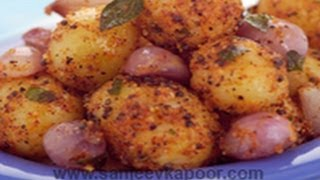 Urulai Chettinadu (Potatoes tossed in South Indian Spices)