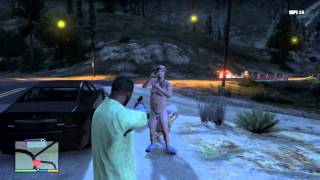 GTA V: Witnessing a RAPE/Cannibal scene! + Haunted Car!