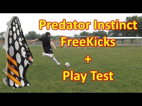 Adidas Predator Instinct Review - Freekicks + Play Test