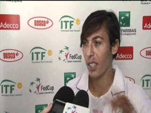 Fed Cup Interview: Francesca Schiavone