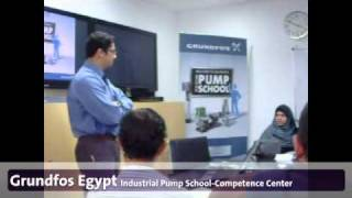 Grundfos Egypt's Industrial Pump School Competence center
