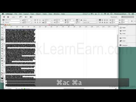 Adobe indesign cs6 tutorials how to design build make a for Tri fold brochure template indesign cs6