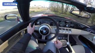 POV BMW Z8 Roadster 4.9 V8 400 HP (1 of 62) SPRING DRIVE