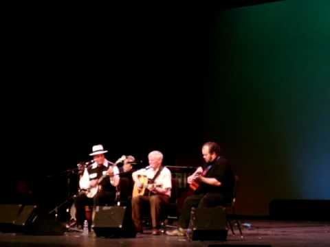 Doc Watson and Buck White - ROMP 2010 (Owensboro, KY)