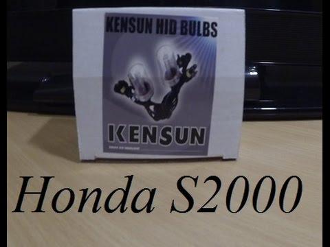 Replacing stock Honda S2000 HID's with Kensun 6k's