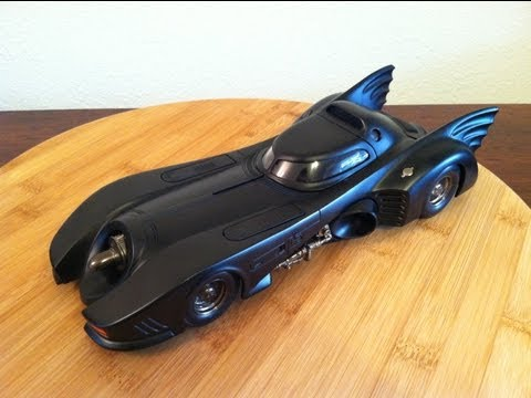 Hot Wheels 1989 Batmobile Review