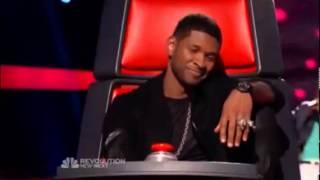 VEDO singing -Boyfriend- by Justin Bieber - The Voice USA 2013 Blind Audition Season 4