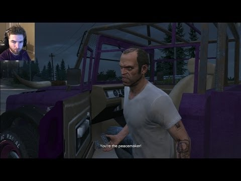 GTA 5 Ending Choice B