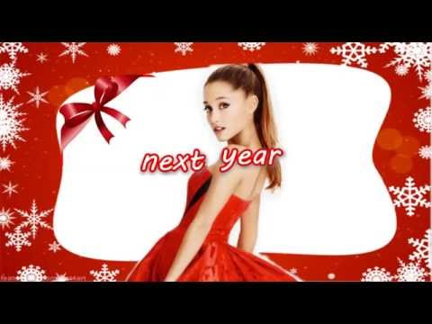 Santa Tell Me - Ariana Grande (Karaoke Instrumental W/ Background Vocals & Lyrics)