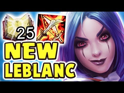 GUESS WHO'S BACK?! NEW REVERT RAVENBORN LEBLANC JUNGLE | BEST GANK POTENTIAL | 1-SHOTS | TOXIC ENEMY