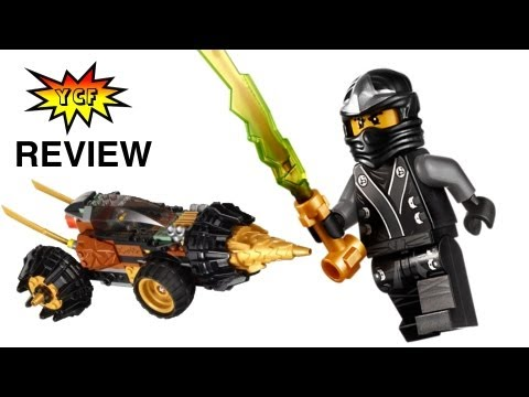 LEGO Ninjago 닌자고 70502 Cole's Earth Driller Review with 2 Minifigures 2013 忍者