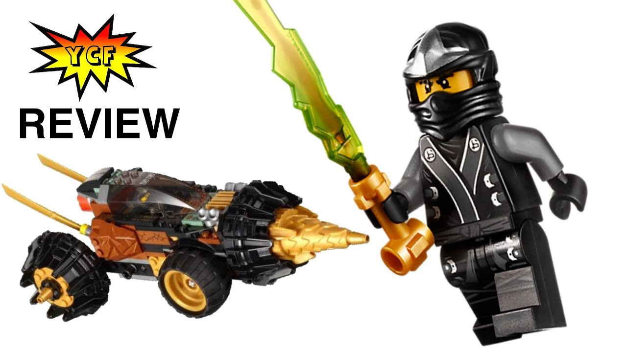 LEGO Ninjago 닌자고 70502 Cole's Earth Driller Review with 2 ...