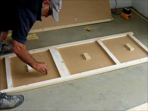 Make A Pair Of Flush Wardrobe Doors Youtube