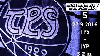 5. TPS - JYP 2016-2017 27.9.2016 MAALIT