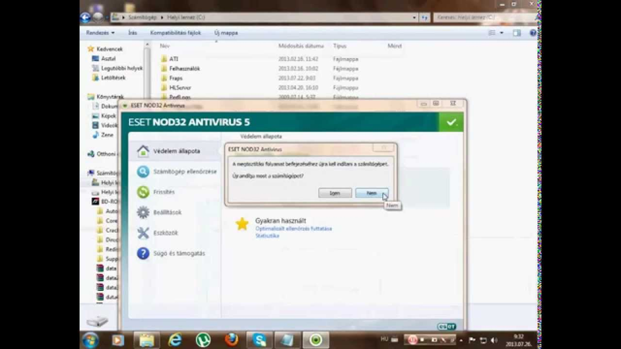 Eset Nod32 6 Lifetime Crack, Only Crack, Eset Pure Fix 2, Direct Download,