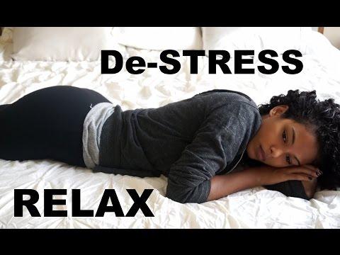 How I Relax & De-Stress at Home