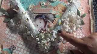 Precious Memories Scrapbook Page Tutorial