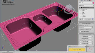 Modeling Kitchen sink HD
