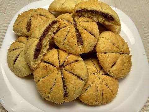 Печенье тает в рту!!!  Супер рецепт печенье!! Печенье за 10 минут