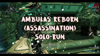 Warframe - Operation: Ambulas Reborn - SOLO Hades, Pluto