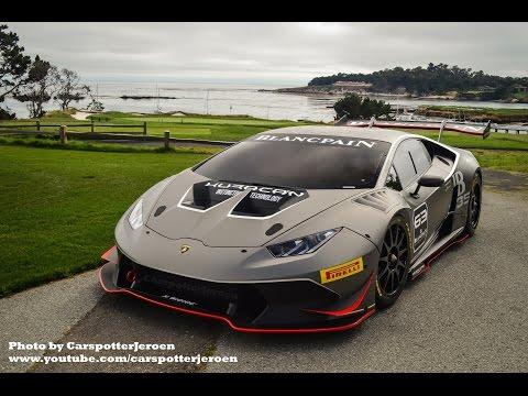Гоночное купе Lamborghini Huracan LP 620-2 Super Trofeo