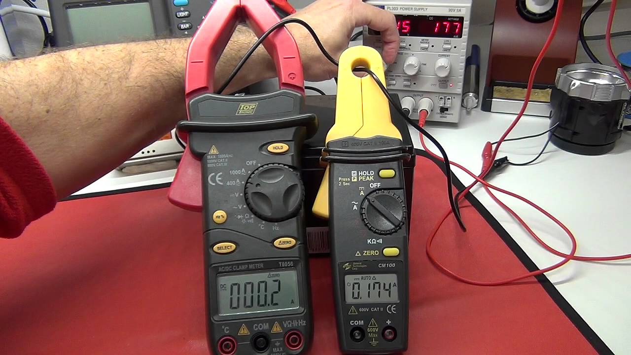 Low Amp Probe Clamp : Multimeter review buyers guide gtc cm ma to a
