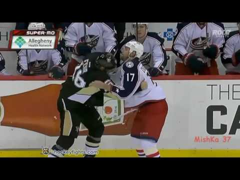 All fights season NHL 2015-2016 fights Pittsburgh Penguins Brawl