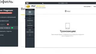 PLATINCOIN Кошелёк новые дополнения . доступною понятно