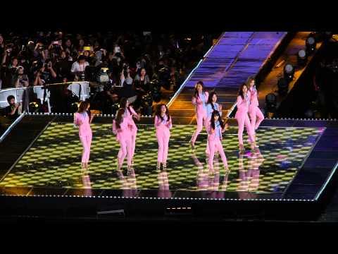 140607 Dream concert girls' generation - introduce+hoot