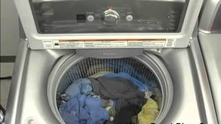 High Efficiency Top Load Washer Work