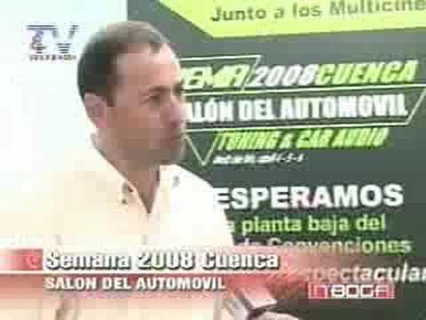 Semana 2008 Cuenca, Salón del Automóvil