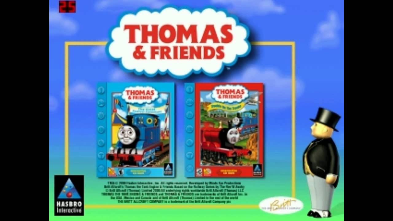 rare thomas friends pc promo for the great festival adventure trouble on the tracks youtube. Black Bedroom Furniture Sets. Home Design Ideas