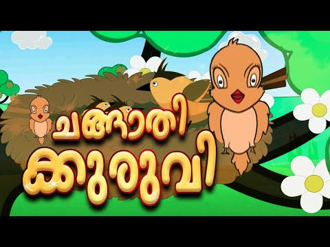 Malayalam Kid Movies | Changathikkuruvi | Animated Full Movie | For Kids| | Hd video