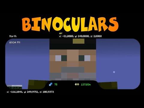 PRISMÁTICOS   BINOCULARS MOD  Minecraft Mod Review