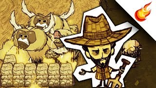 FARMING BEEFALO WITH FIRE In Don't Starve Together