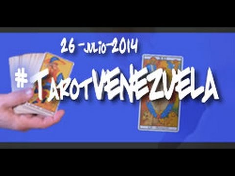#TarotVenezuela -  26 JULIO 2014 - Predicciones para Venezuela - Ricardo Latouche Tarot