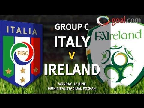Italy vs Ireland: Only victory good enough for Prandelli's men