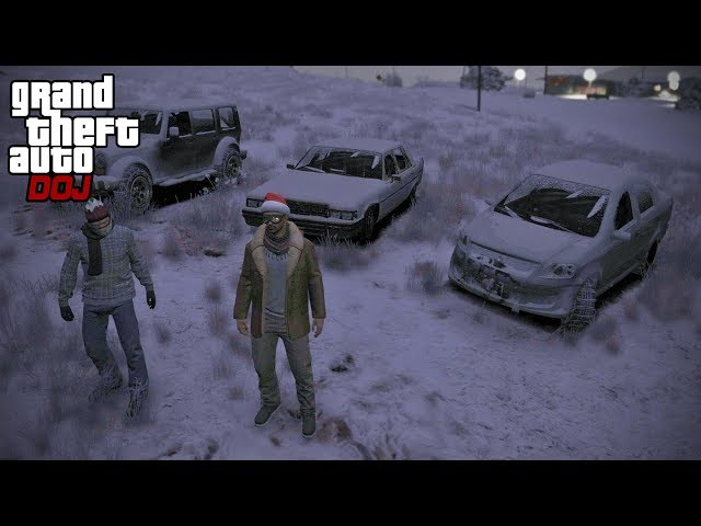 GTA 5 Roleplay - DOJ 337 - GTA V Snow Day