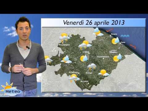 Fano, previsioni meteo del 25-26-27-28 aprile 2013