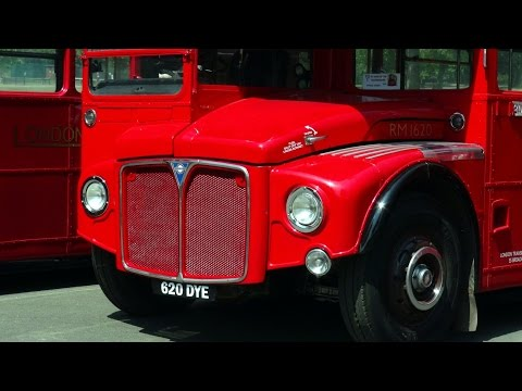 Routemaster 60 Finsbury Park 12th July 2014 HD