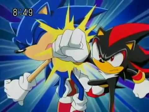 Sonic meets Shadow